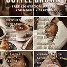 FREE Lightroom Preset + Lightroom Tutorial Coffee Brown Aesthetic  – May the Ray