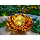 Solar-Gartendeko Blüte, gelb jetzt bei Weltbild.de bestellen