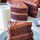 Chocolate Banana Cake - the perfect recipe to use over ripe bananas?