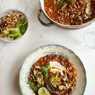 Spicy Instant Pot Taco Soup Recipe   101 Cookbooks