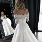 Olivia Off the Shoulder Wedding Dress by Olivia Bottega | Off the Shoulder Gown | Wedding Dress | Of