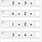 Kindergarten Addition / FREE Printable Worksheets