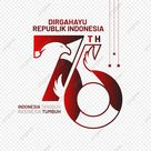 Greeting Of Dirgahayu Republik Indonesia 76th With Eagle Head Vector Illustration, 76th, Indonesia Merdeka, 17 Agustus PNG and Vector with Transparent Background for Free Download