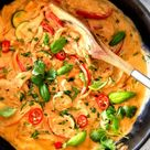 Thai Red Curry Chicken and Vegetables - Carlsbad Cravings