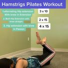 Back Pain Stiffness with Glutes and Hamstrings weakness? Try this Gentle Pilates Program