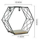 Iron Decorative Shelves - Black Style-1