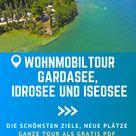 Gardasee, Idro- & Iseosee mit dem Wohnmobil