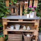 Potting benche - table de rempotage