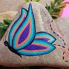 Step by Step Stones Rock Painting Tutorials by StepbyStepStones