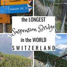Scary Walks: The longest pedestrian suspension bridge in the WORLD!