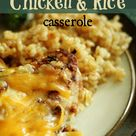 Cheesy Chicken Rice Casserole