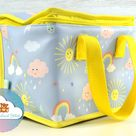 Personalised Lunch Box Sunshine Bag Embroidered Lunchbag Personalized Bag School Nursery Bag