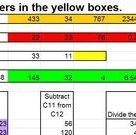 Excel Formulas Lesson Plan - Sum formula, Subtraction, Division, Product Formula