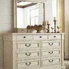 Bolanburg Antique White Bedroom Mirror