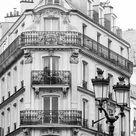 Paris Photography, Parisian Apartments, Black and White Photography, French Decor, Classic Paris Pho