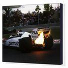 Box Canvas Print. action engine turbo F1 Formula 1