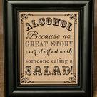 Wedding Bar Signs
