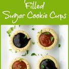 Fruit Filled Cookie Cups Recipe