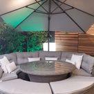 Garden Furniture Sofa Dining Set