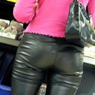 Leather/Shiny Ass Part 10
