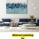 Abstract painting  by Niks Fine Art