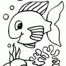 Kleurplaten vis