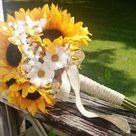 Sunflower Bridal Bouquets