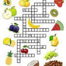 Kennst du das Obst? Gitterrätsel für Kinder
