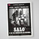 vintage 1976 Salò, 120 Days of Sodom by Pier Paolo Pasolini, original Italian XXL film movie poster, 100 x 140 cm, Italy seventies cult