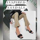 Designer inspired spring shoes