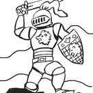 Knights coloring pages. Download and print knights coloring pages