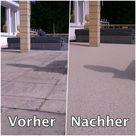 Terrassensanierung mit Steinteppich
