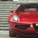 2013 Alfa Romeo Disco Volante Touring Front Profile Detail Shot   egmCarTech