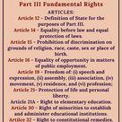 Part III Fundamental Rights