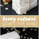 Honey Oatmeal Goat's Milk Soap