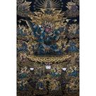 Vajrakilaya, Tibetan Thangka Painting, High Quality Thangka Print - 15 x 24 inches