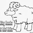 Tema Idul Adha Warna Gambar Domba