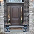 Brown Front Doors
