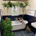 Fun and peaceful bathroom design