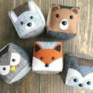 Awesome Boy First Birthday Gift Ideas   Felt Stacking Cubes
