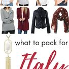 Fall capsule wardrobe for travel: what to pack for Italy in October - The Family Voyage