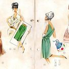 Lutterloh Golden Rule 1960s Vintage Sewing Pattern Drafting | Etsy