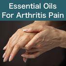 Essential Oils Arthritis