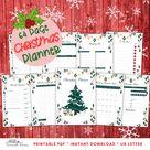 Printable Christmas Planner 2021