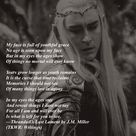 Thranduil's Last Lament (The Kingdom of the Woodland Realm Trilogy Appendix: Writings) #Thranduil #Elvenking #poetry
