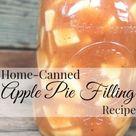 Apple Pie Filling Canning Recipe