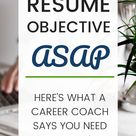 You Don't Need A Resume Objective For a Career Change, But You Do Need This - With Love, Becca
