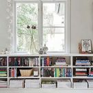 17 Stylish Ways to Display Bookshelves with a Lot of Books   Posh Pennies