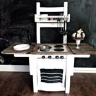 Amazing DIY Play Kitchen For Your Kids