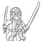 Lego Ninjago Kai Nrg coloring page | Free Printable Coloring Pages